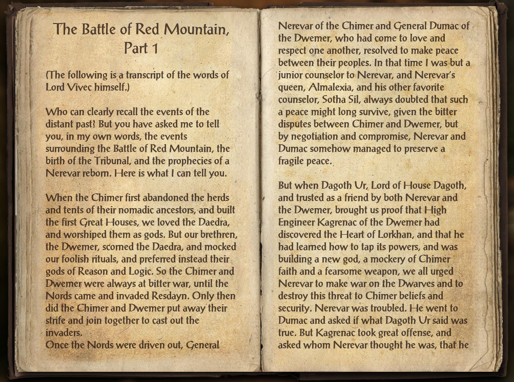 The Battle of Red Mountain, Part 1