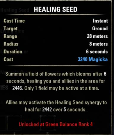 Healing Seed