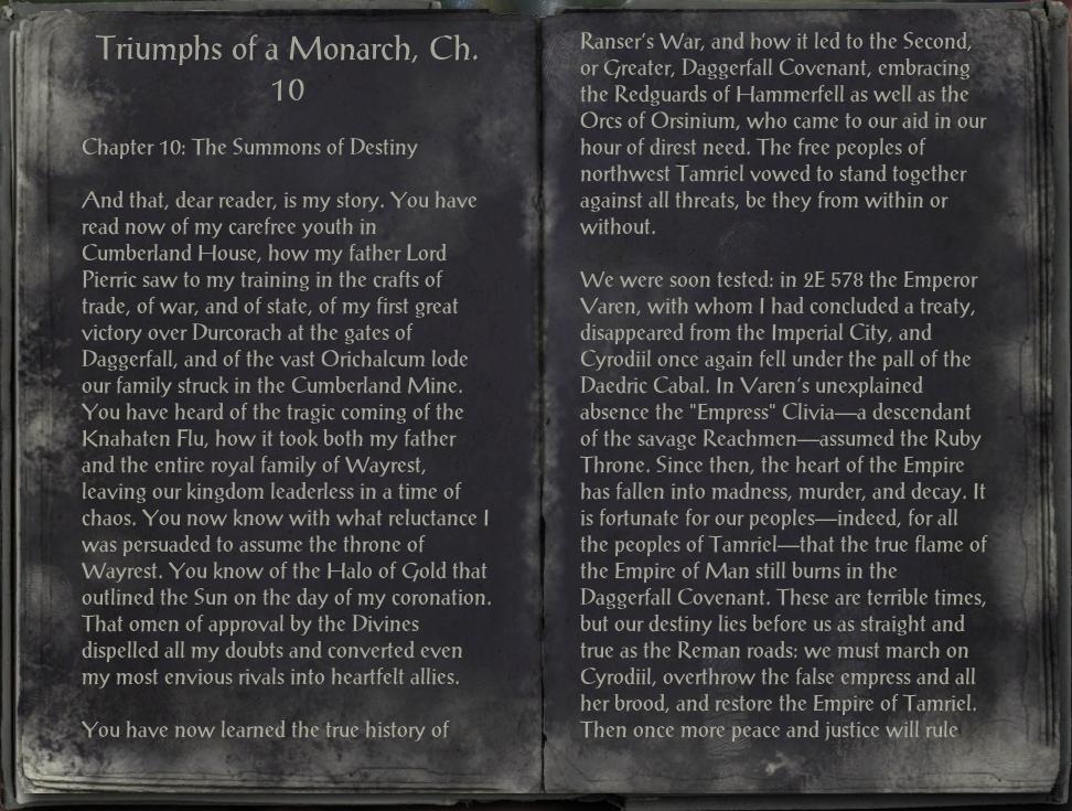 Triumphs of a Monarch, Ch. 10