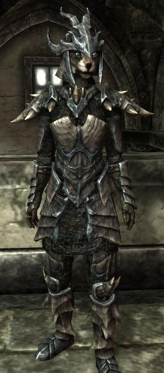 Armadura de escamas de dragón (conjunto) (Skyrim)