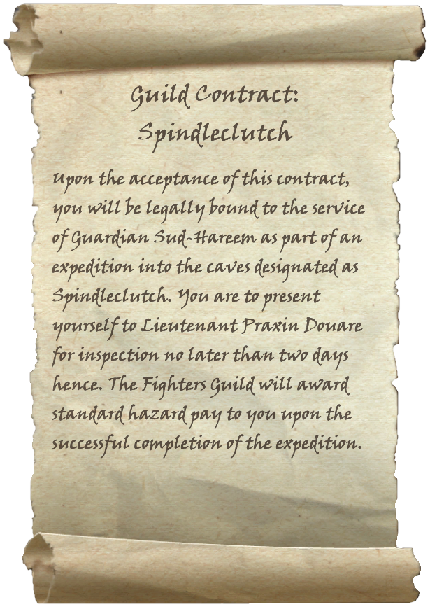 Guild Contract: Spindleclutch