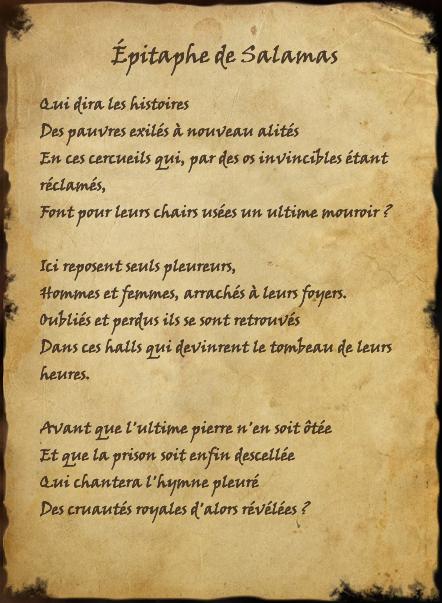 Épitaphe de Salamas