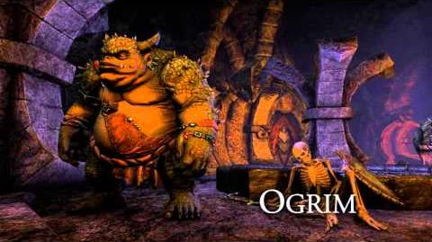 Creating ESO The Ogrim