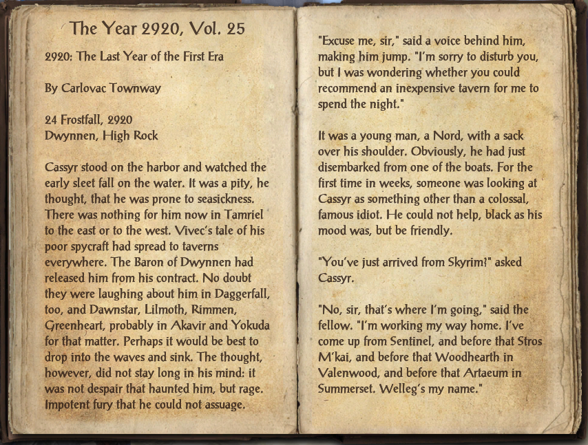 The Year 2920, Vol. 25