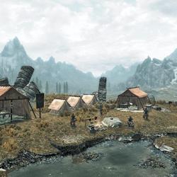 Campamento Imperial en Carrera Blanca