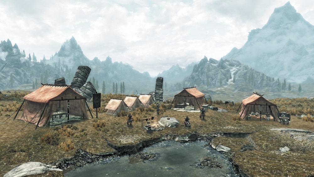 Whiterun Imperial Camp