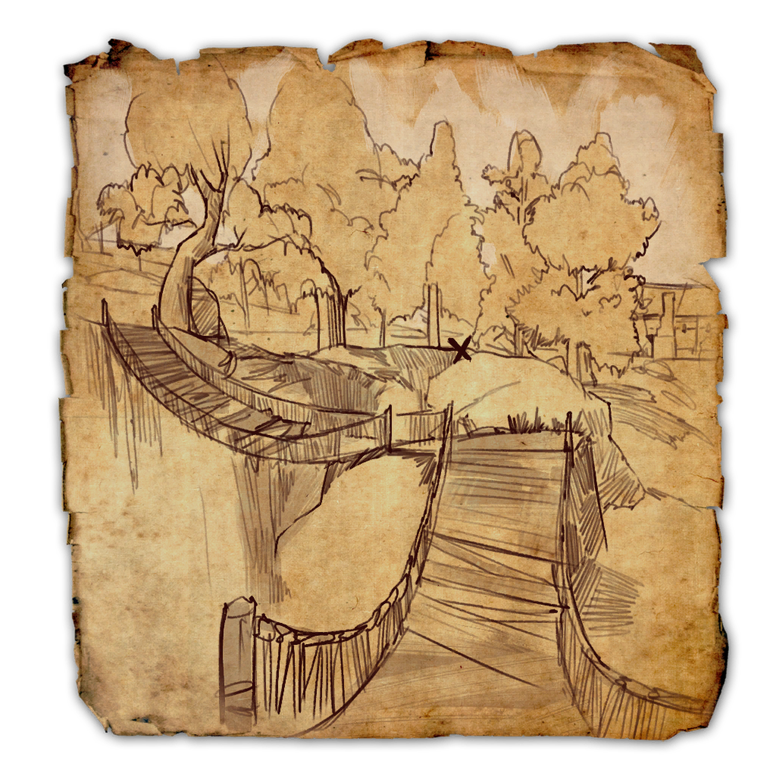 Cyrodiil Treasure Map XVIII
