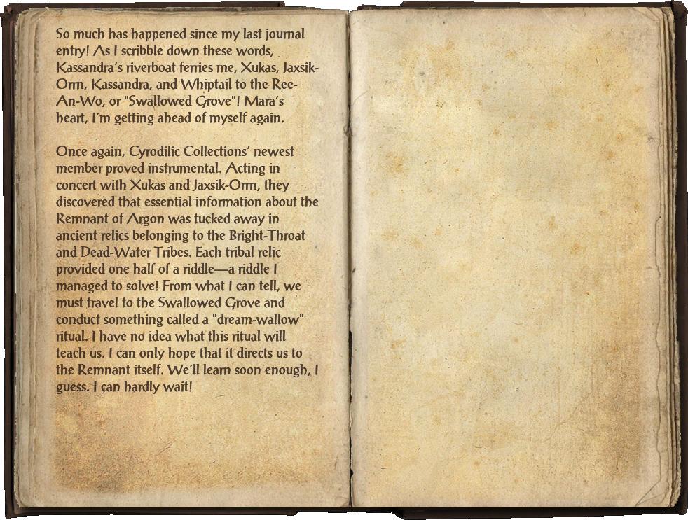Famia Mercius's Journal, Part 2