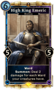 High King Emeric (Legends) DWD