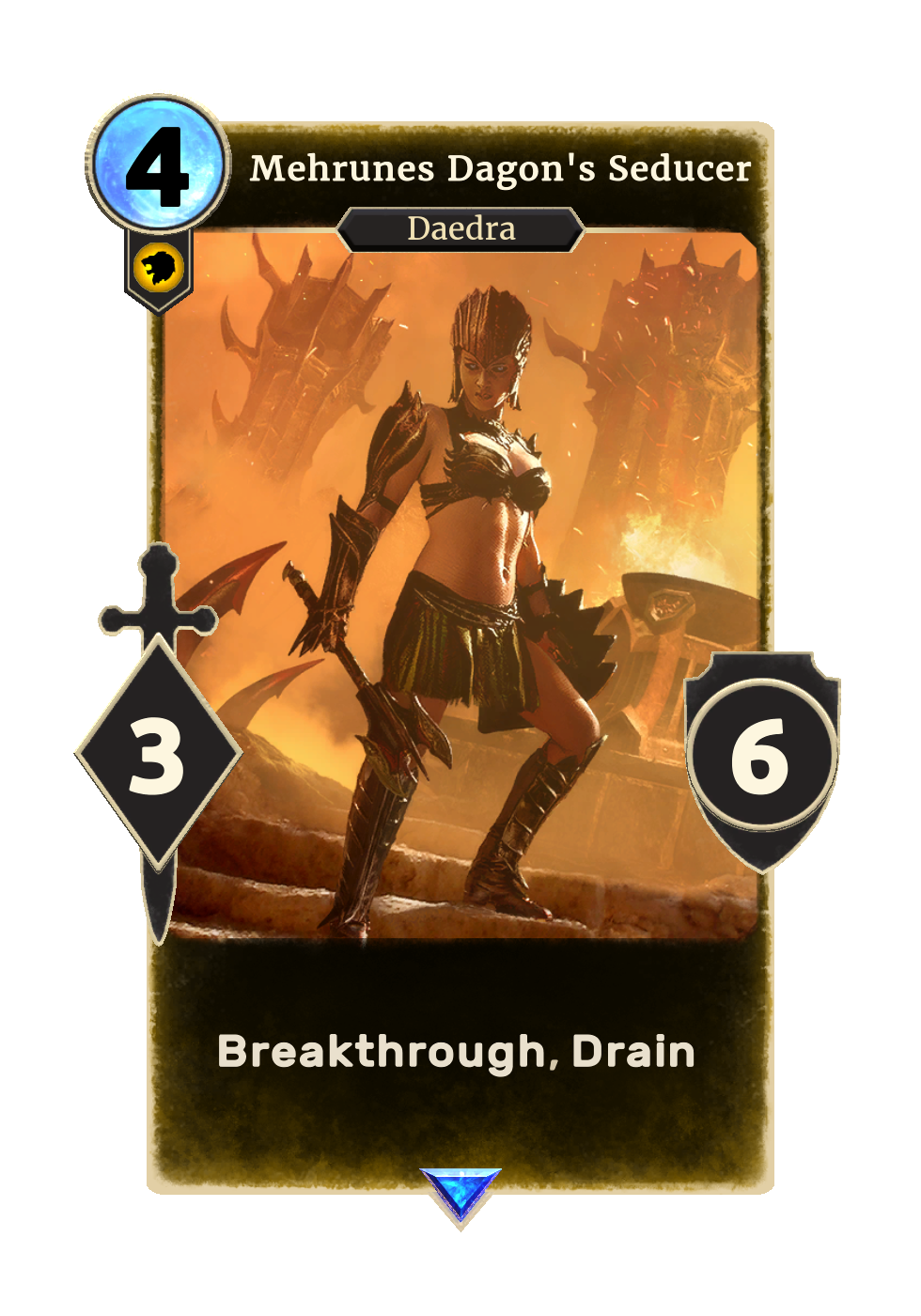 Mehrunes Dagon's Seducer