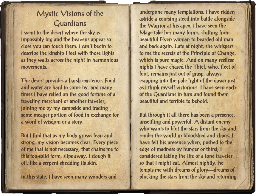 Mystic Visions of the Guardians