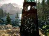 La piedra del guerrero (Skyrim)