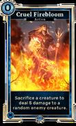 Cruel Firebloom (Legends) DWD