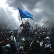Crusader's Assault alternate card art