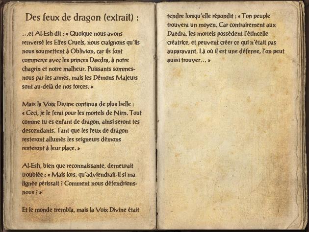 Des feux de dragon (extrait)