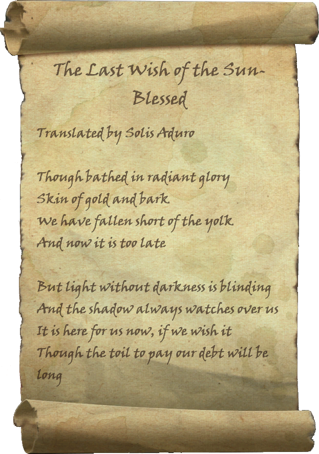 The Last Wish of the Sun-Blessed