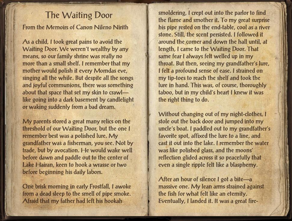 The Waiting Door