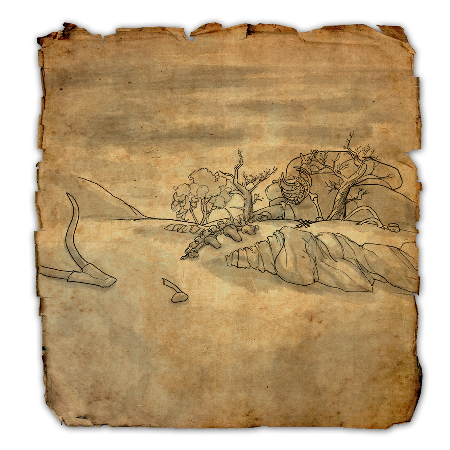 Cyrodiil Treasure Map XIV