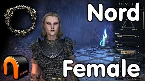 Elder Scrolls Online -- Nord Female - Character Creation