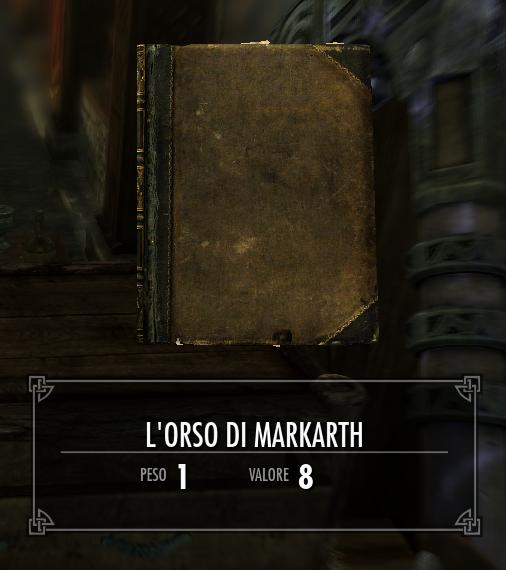 L'orso di Markarth