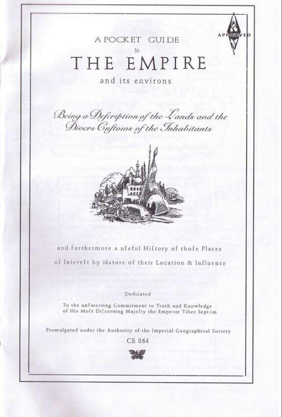 Pocket Guide to the Empire, First Edition – okładka.jpg