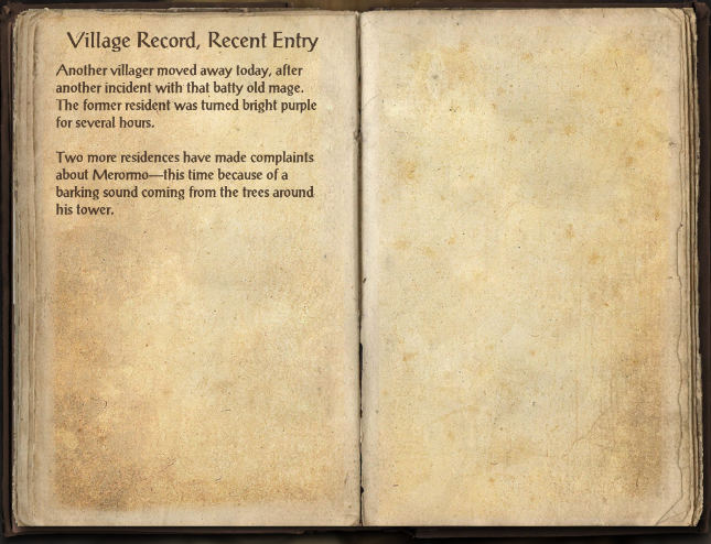 Village Record, Recent Entry
