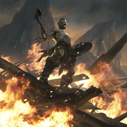 Warrior's Fury card art