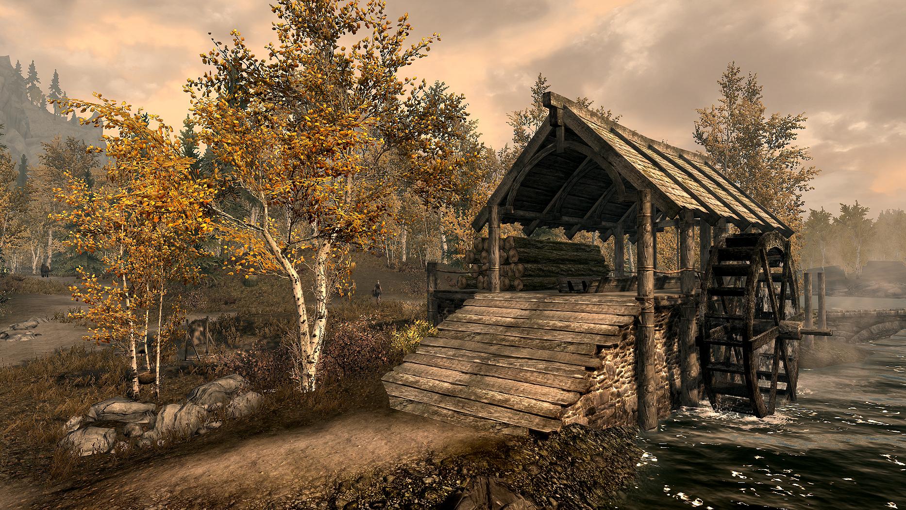 Деревня Лесная