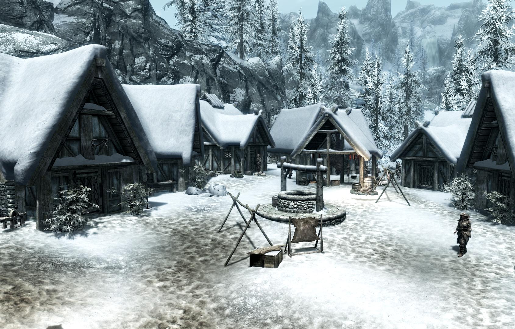 Деревня Скаалов (Dragonborn)