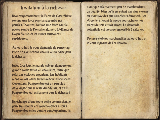 Invitation à la richesse