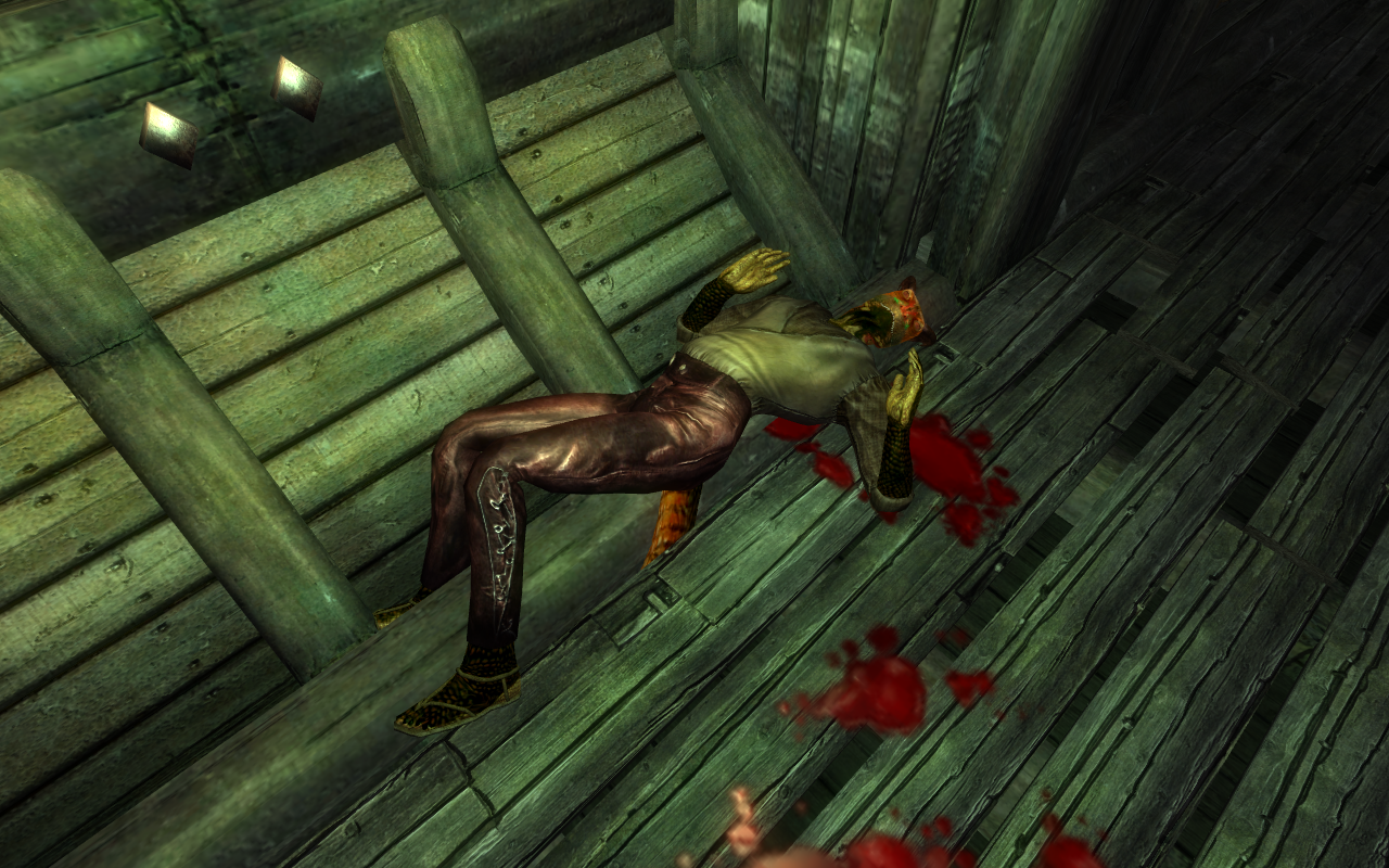 Dead Crewmember
