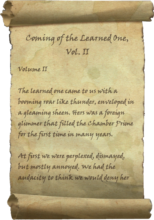 Coming of the Learned One, Vol. II