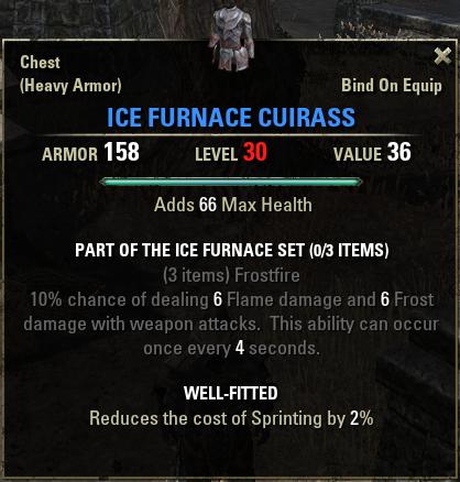 The Ice Furnace
