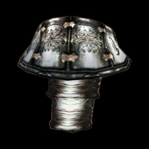 Steel Left Pauldron (Morrowind)
