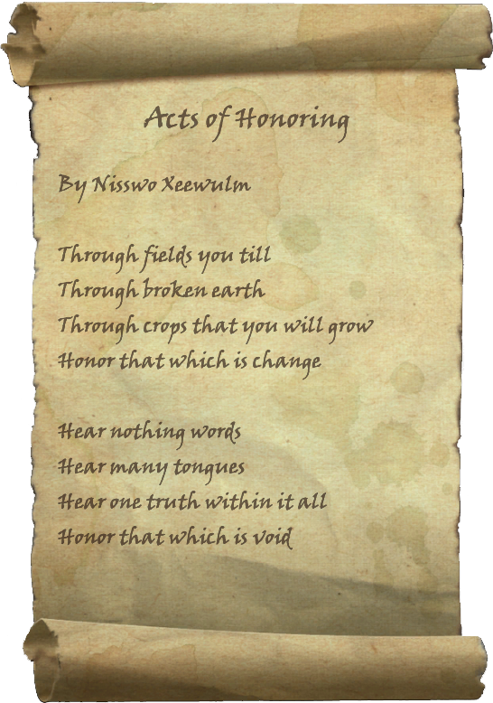 Acts of Honoring