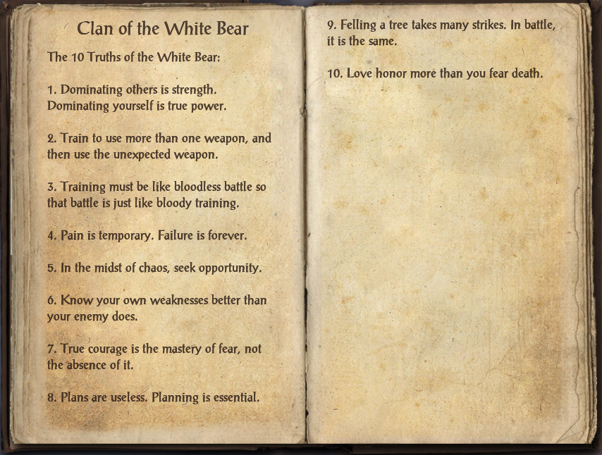 Clan of the White Bear