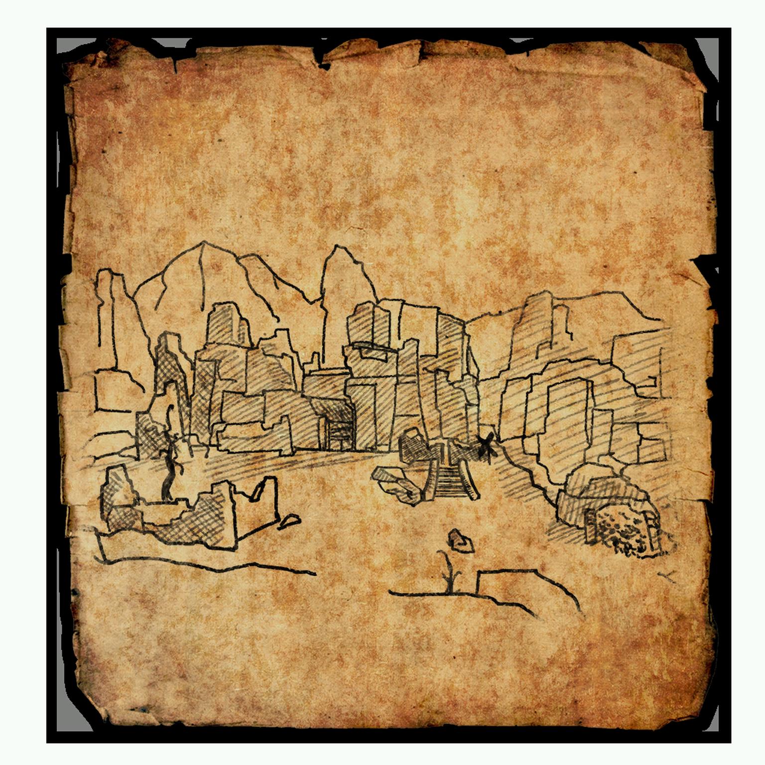 Craglorn Treasure Map IV