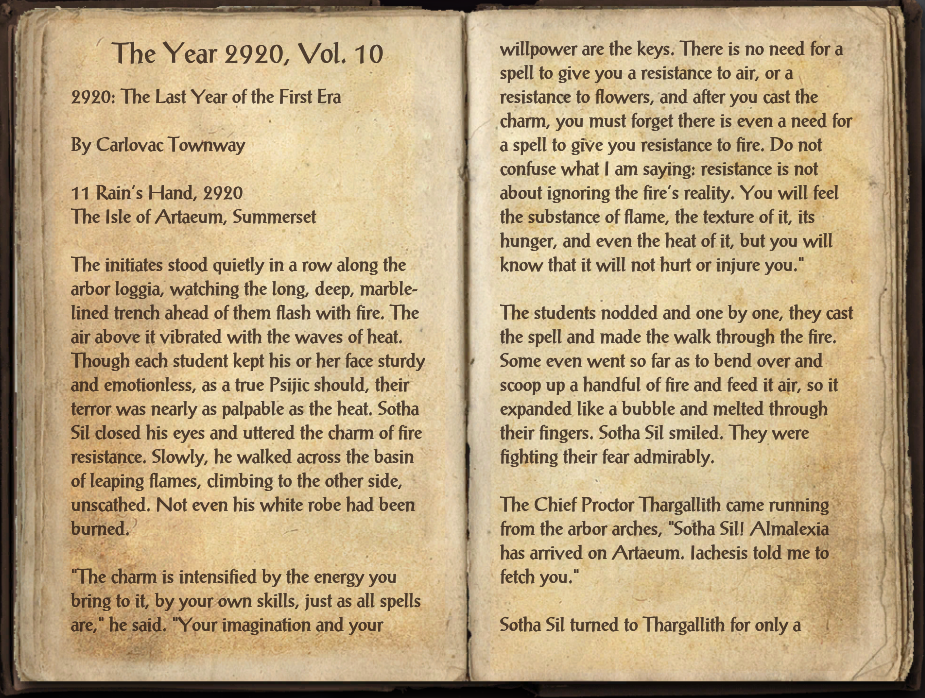 The Year 2920, Vol. 10