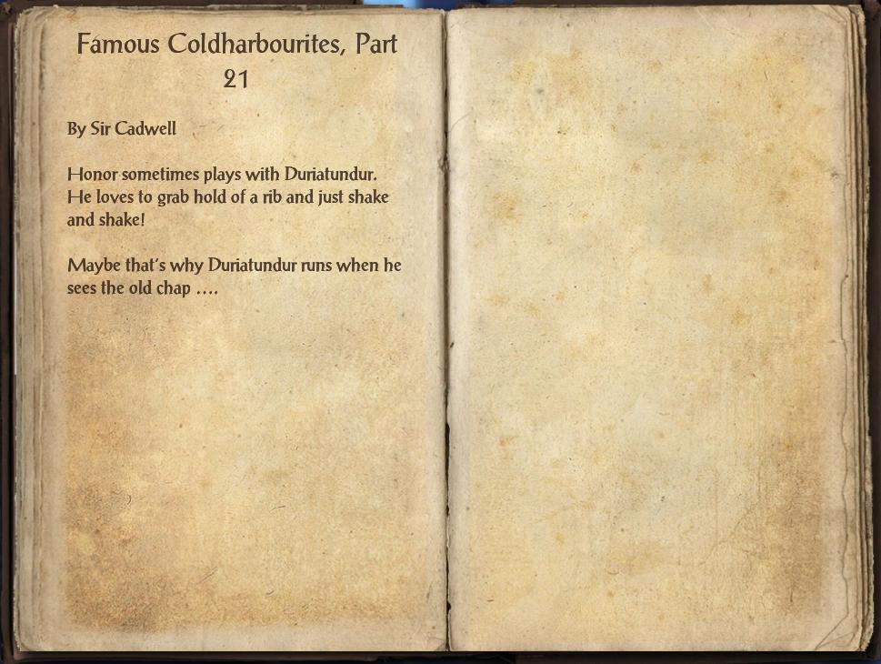 Famous Coldharbourites, Part 21