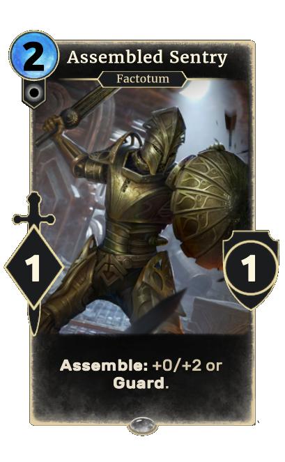 Assembled Sentry