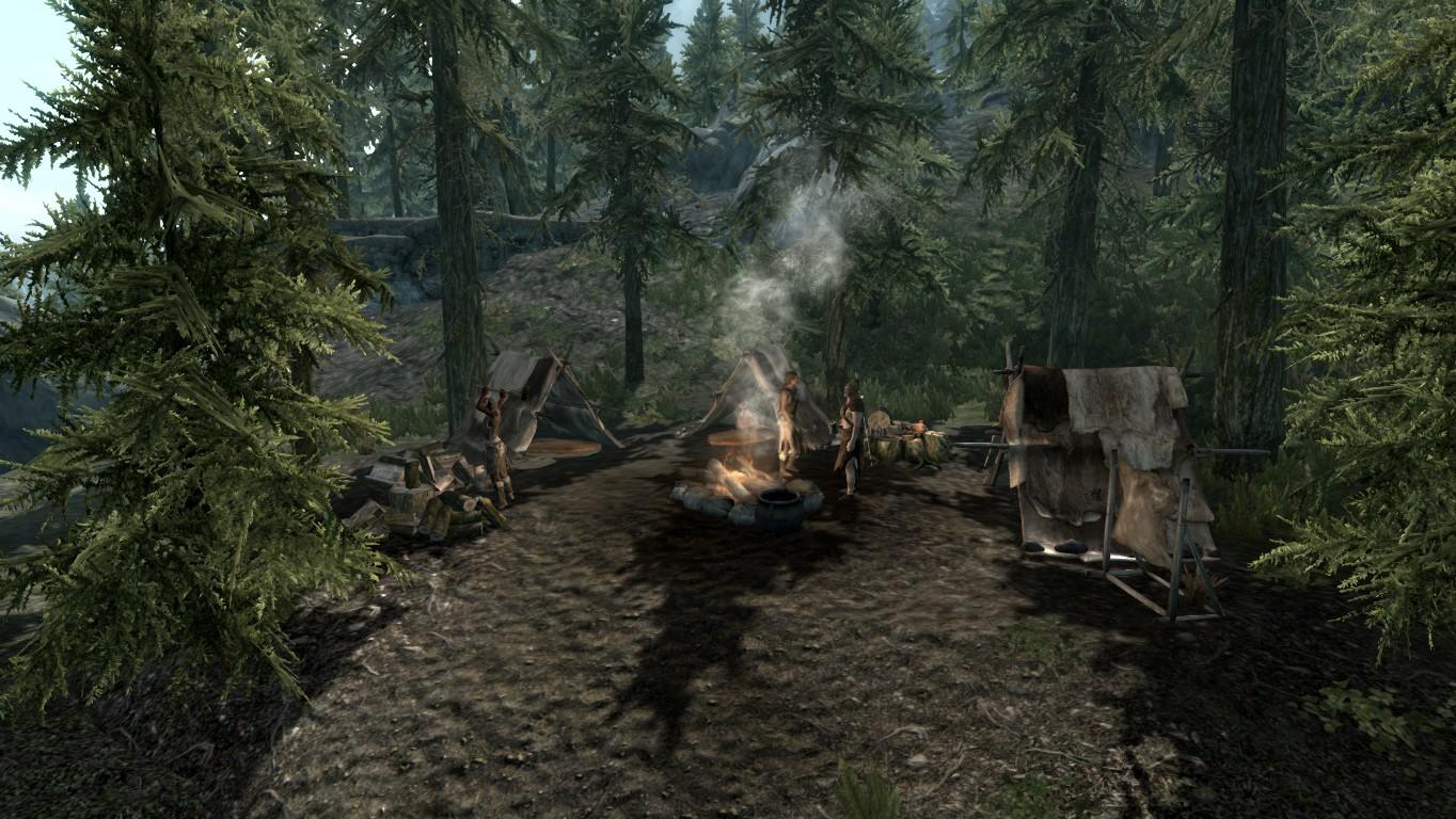 Бандитский лагерь — Предгорья Илиналты
