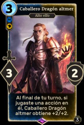 Caballero Dragón altmer
