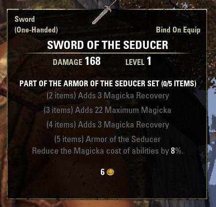 Armor of the Seducer