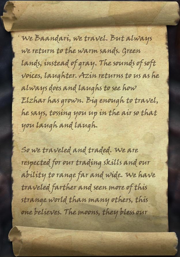 Zayshara's Second Note