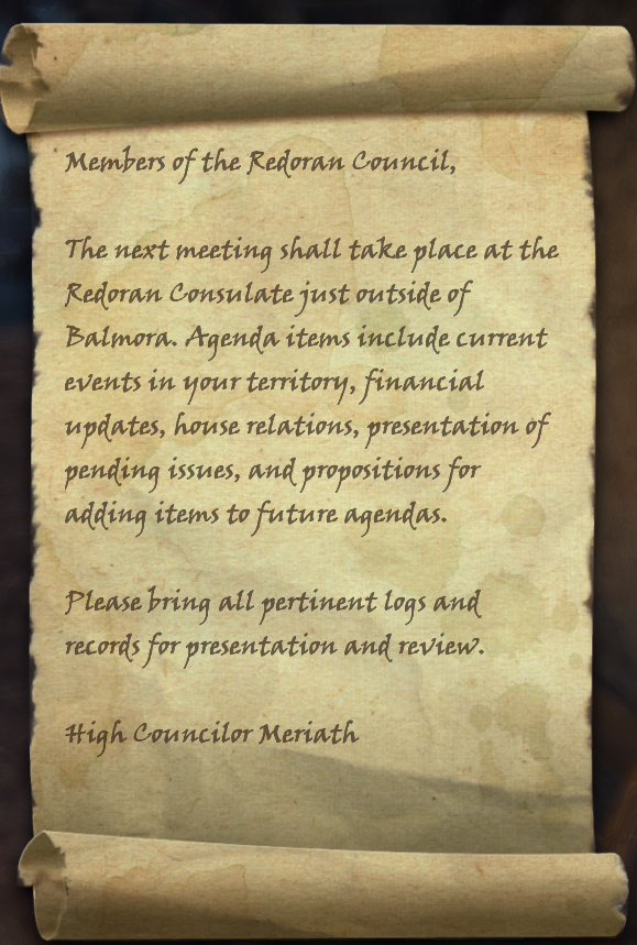 Council Meeting Summons