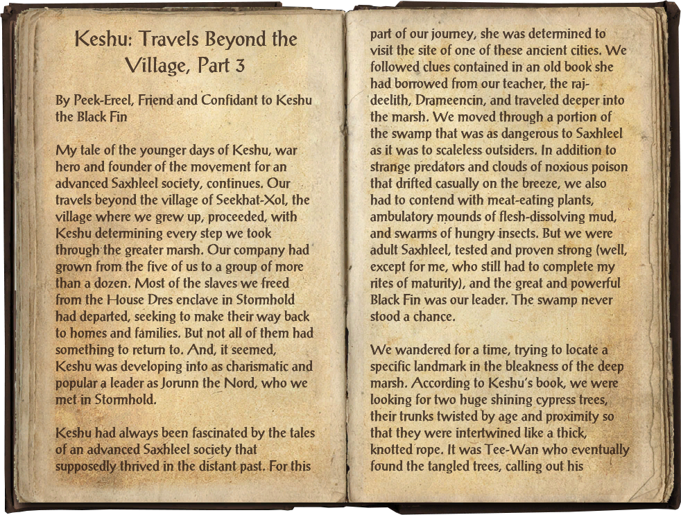 Keshu: Travels Beyond the Village, Part 3