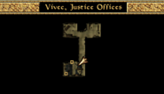 Vivec Justice Offices Local Map Morrowind