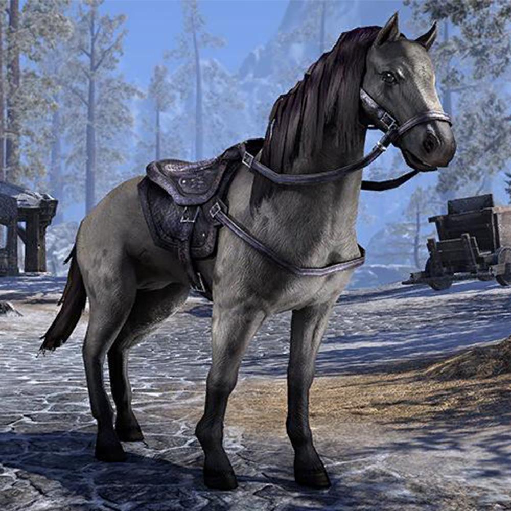 Coalsmoke Forge Horse