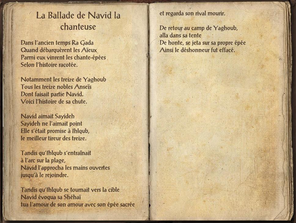 La Ballade de Navid la chanteuse