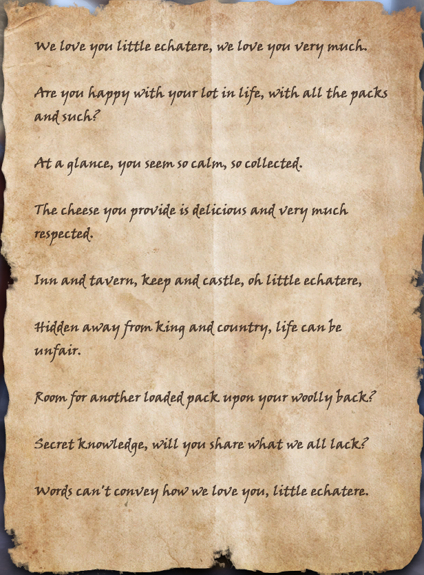 The Wood Elf's Message